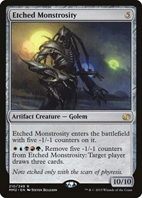 Etched Monstrosity, Magic: The Gathering, Modern Masters 2015