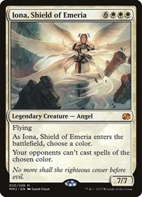 Iona, Shield of Emeria, Magic: The Gathering, Modern Masters 2015