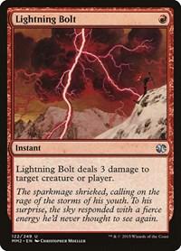 Lightning Bolt, Magic: The Gathering, Modern Masters 2015