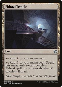Eldrazi Temple, Magic, Modern Masters 2015