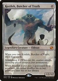 Kozilek, Butcher of Truth, Magic, Modern Masters 2015