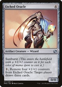 Etched Oracle, Magic: The Gathering, Modern Masters 2015