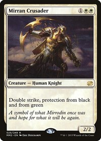 Mirran Crusader, Magic, Modern Masters 2015