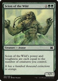 Scion of the Wild, Magic, Modern Masters 2015