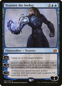 Tezzeret the Seeker, Magic: The Gathering, Modern Masters 2015