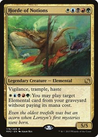 Horde of Notions, Magic: The Gathering, Modern Masters 2015