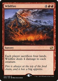 Wildfire, Magic, Modern Masters 2015