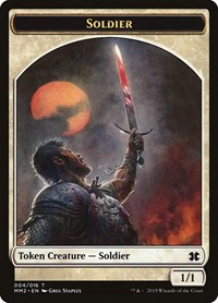 Soldier Token, Magic: The Gathering, Modern Masters 2015