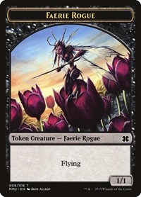Faerie Rogue Token, Magic: The Gathering, Modern Masters 2015