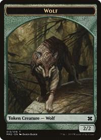 Wolf Token, Magic: The Gathering, Modern Masters 2015