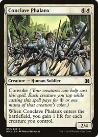 Conclave Phalanx, Magic: The Gathering, Modern Masters 2015