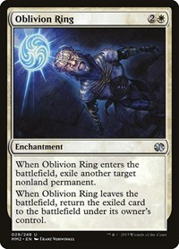 Oblivion Ring, Magic, Modern Masters 2015