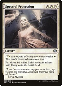 Spectral Procession, Magic, Modern Masters 2015
