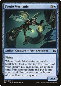 Faerie Mechanist, Magic: The Gathering, Modern Masters 2015