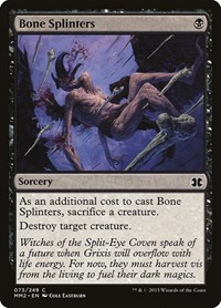 Bone Splinters, Magic, Modern Masters 2015