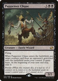 Puppeteer Clique, Magic: The Gathering, Modern Masters 2015