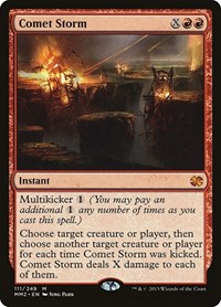 Comet Storm, Magic: The Gathering, Modern Masters 2015