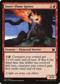 Inner-Flame Igniter, Magic: The Gathering, Modern Masters 2015