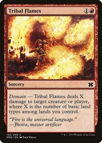 Tribal Flames, Magic: The Gathering, Modern Masters 2015