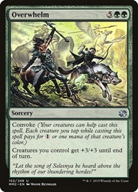 Overwhelm, Magic: The Gathering, Modern Masters 2015