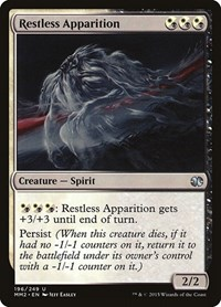 Restless Apparition, Magic: The Gathering, Modern Masters 2015