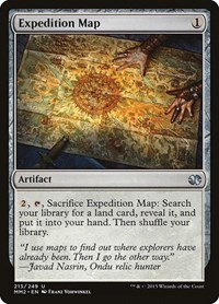 Expedition Map, Magic: The Gathering, Modern Masters 2015