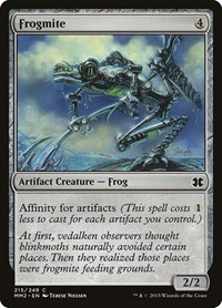 Frogmite, Magic: The Gathering, Modern Masters 2015