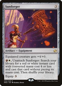 Sunforger, Magic: The Gathering, Modern Masters 2015