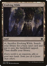 Evolving Wilds, Magic: The Gathering, Modern Masters 2015