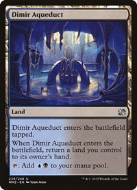Dimir Aqueduct, Magic, Modern Masters 2015