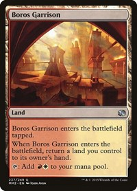 Boros Garrison, Magic: The Gathering, Modern Masters 2015