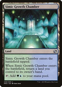 Simic Growth Chamber, Magic: The Gathering, Modern Masters 2015