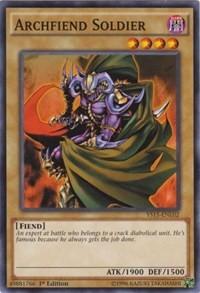 Archfiend Soldier, YuGiOh, Starter Deck: Dark Legion