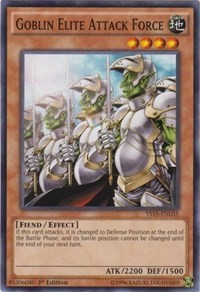 3 x Goblin Decoy Squad Near Mint CSOC-EN032 - Common