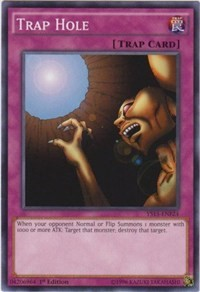 Trap Hole, YuGiOh, Starter Deck: Saber Force