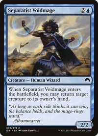 Separatist Voidmage, Magic: The Gathering, Magic Origins
