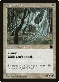 Angelic Wall, Magic: The Gathering, Portal Second Age